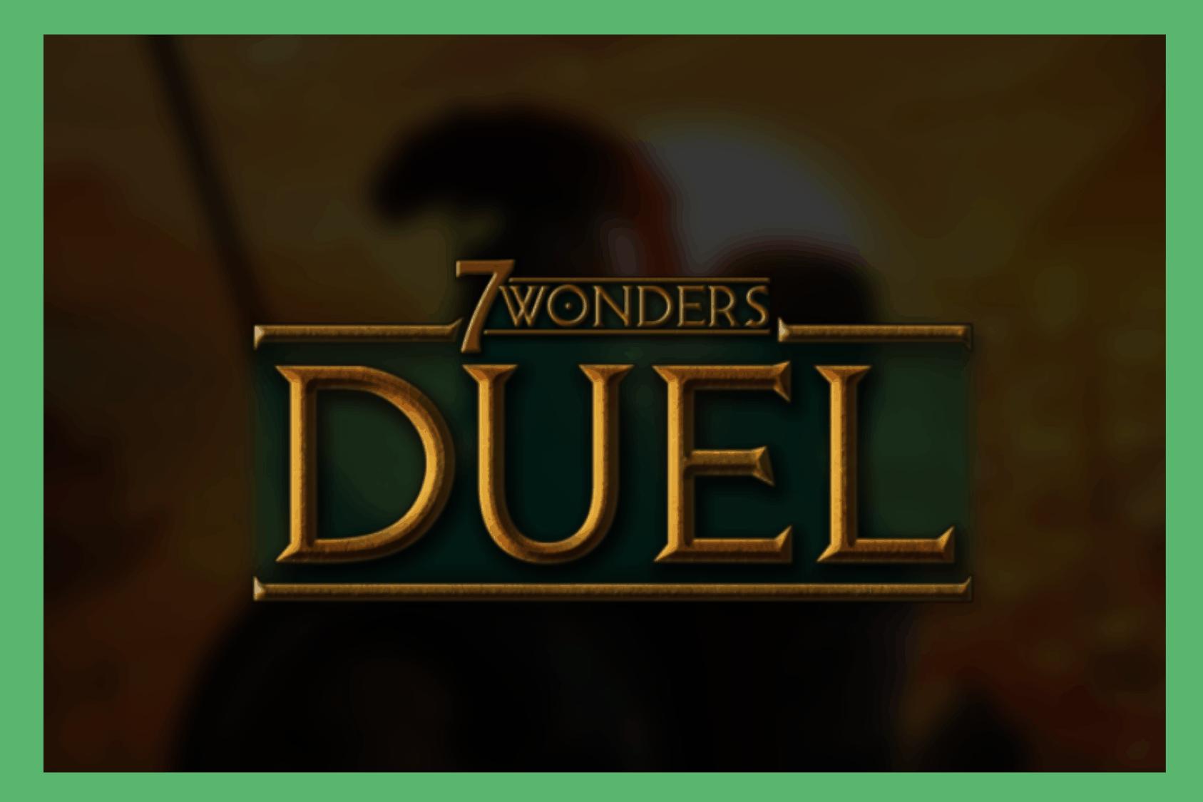 7 Wonders Duel App Review