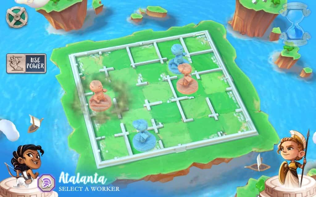Santorini Board Game App