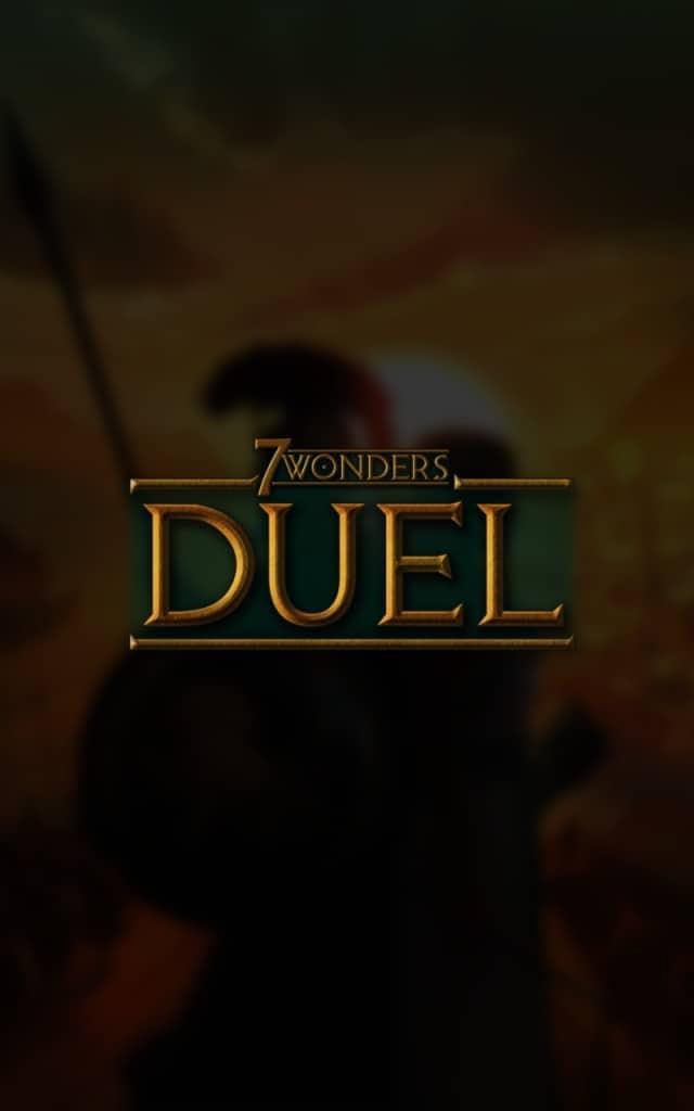 7 Wonders Duel Menu