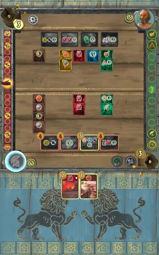 7 Wonders Duel Game