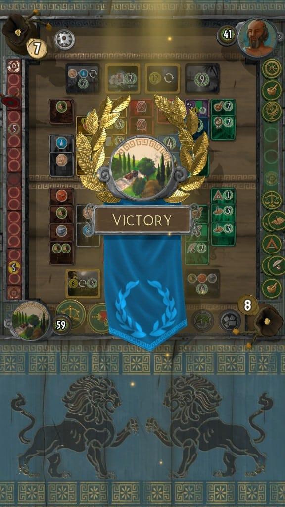 7 Wonders Duel Win