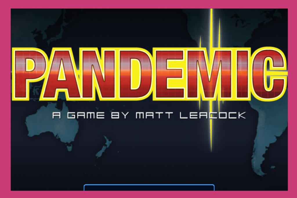 Pandemic Board Game App
