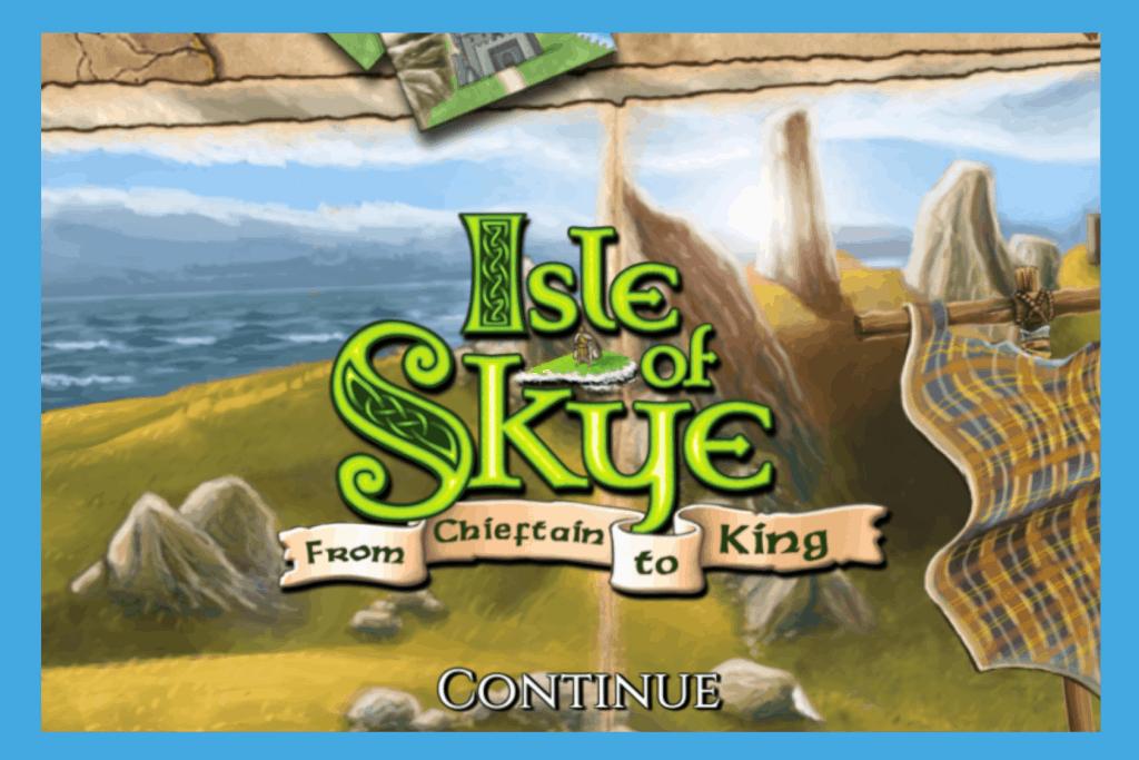 Isle of Skye Board Game App